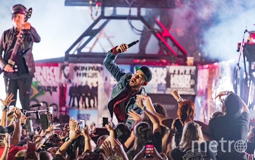 Концерт Linkin Park. Фото Getty