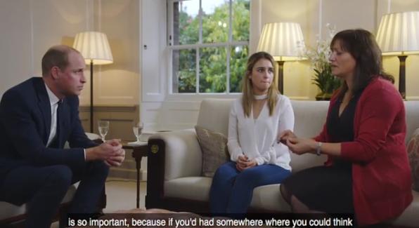 Принц Уильям поддержал девушку, выжившую после попытки суицида. Фото Скриншот Instagram: kensingtonroyal