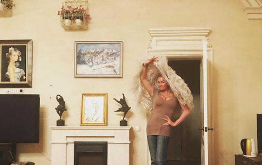 Архивное фото. Фото Скриншот Instagram/volochkova_art