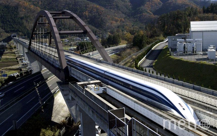 Железная дорога в Японии. Фото Getty