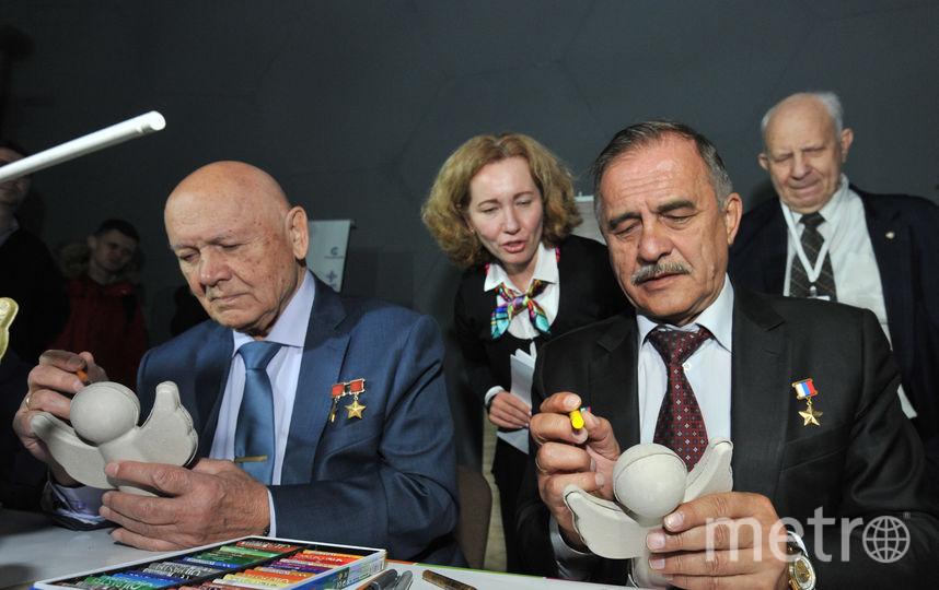 """Встреча с космонавтами. Фото Святослав Акимов, """"Metro"""""""
