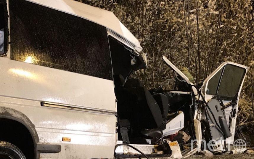 Страшное ДТП с 15 жертвами в Марий Эл. Фото РИА Новости