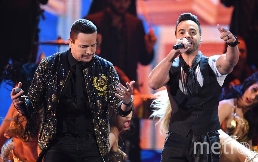 Latin Grammy Awards-2017. Луис Фонси. Фото Getty