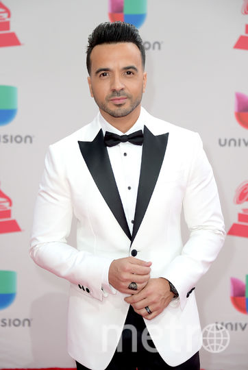 Latin Grammy Awards-2017. Луис Фонси. Фото Getty