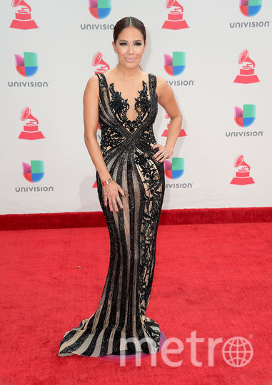 Latin Grammy Awards-2017. Карла Мартинес. Фото Getty