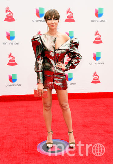Latin Grammy Awards-2017. Джеки Крус. Фото Getty