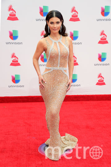 Latin Grammy Awards-2017. Чикинкира Дельгадо. Фото Getty