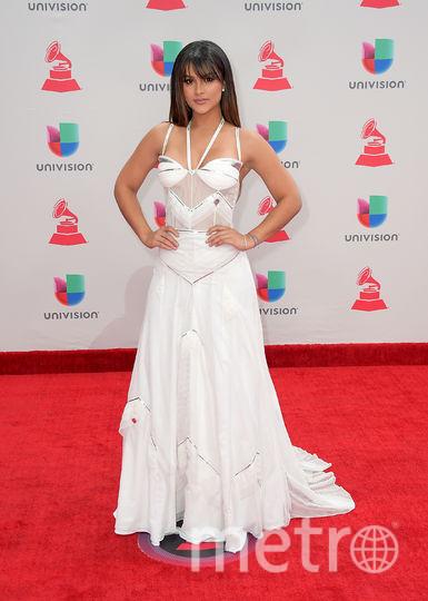 Latin Grammy Awards-2017. Кларисса Молина. Фото Getty