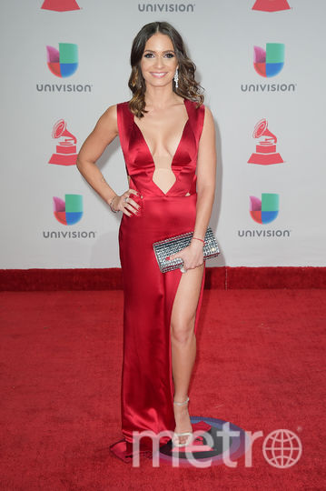 Latin Grammy Awards-2017. Диана Фуэнтес. Фото Getty