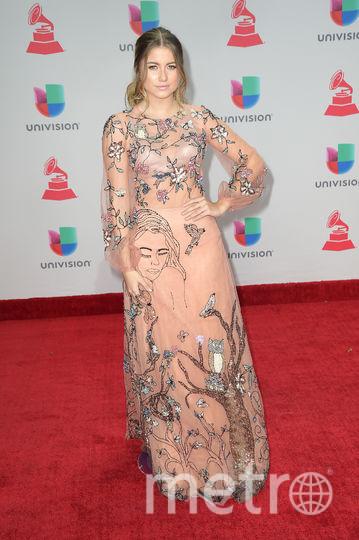 Latin Grammy Awards-2017. София Рейес. Фото Getty