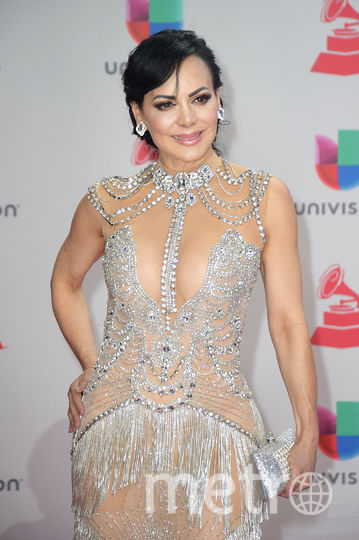 Latin Grammy Awards-2017. Марибель Гардия. Фото Getty