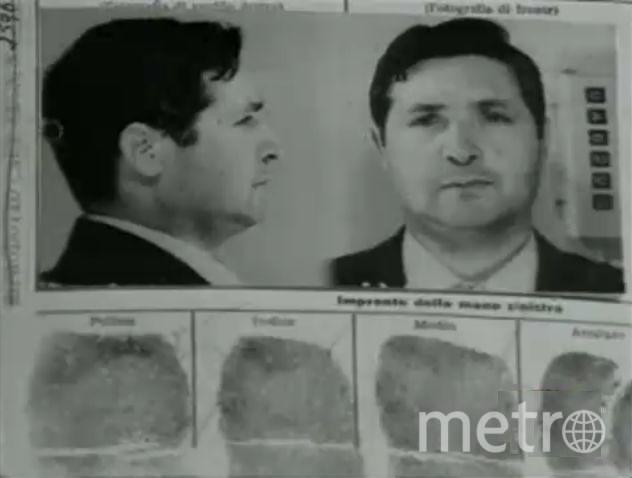 "Сальваторе ""Тото"" Риина, бывший глава ""Коза Ностра"". Фото Wikipedia It"