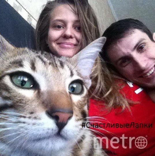 Наталья Седоплатова, на фото котик Луи.