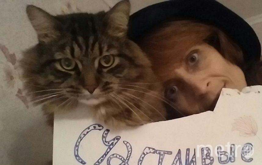 Наталья Рыбакова, кот Пуша.