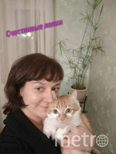 Ирина Лукашева и котик Мася.