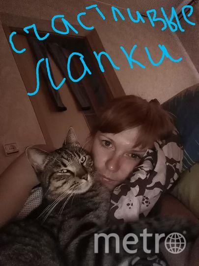 Ирина смелова, Котика зовут Оскар, 2 года.
