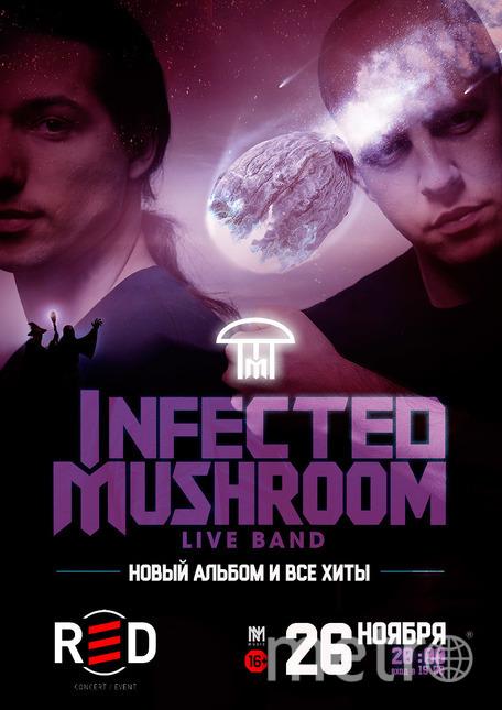 Эрез Айзен и Амит Дувдевани, Infected Mushroom. Фото Концертное агентство No Media Music, Предоставлено организаторами