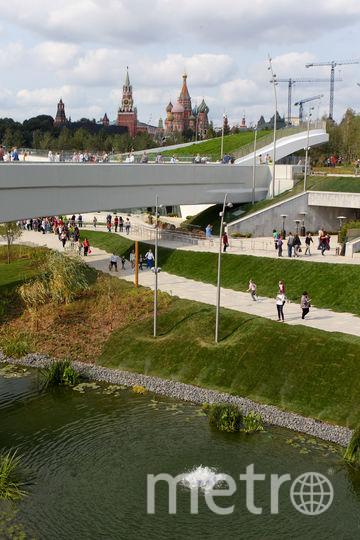 """Парк """"Зарядье"""". Фото Василий Кузьмичёнок"""