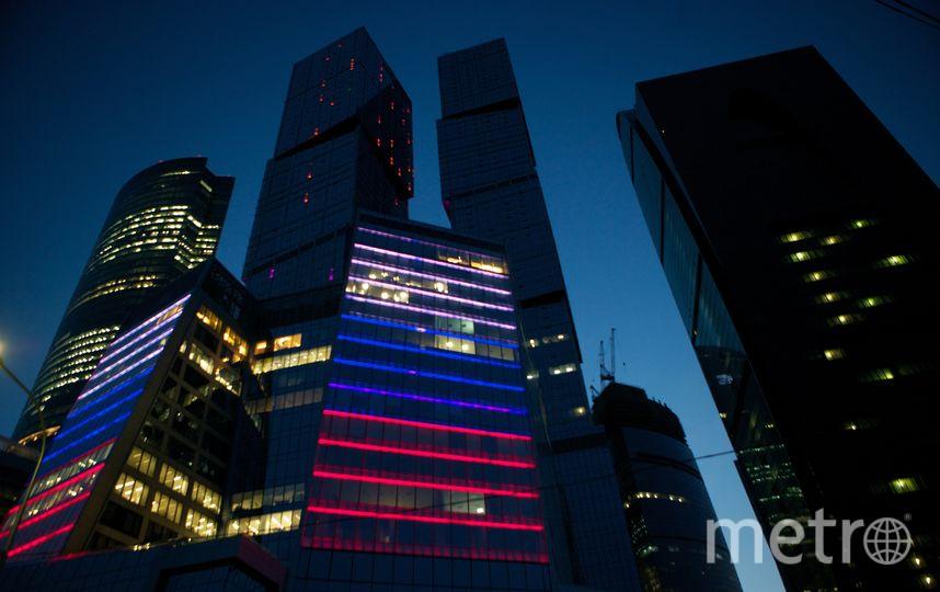 """Комплекс """"Москва-Сити"""". Фото Getty"""