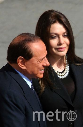 Сильвио Берлускони и Вероника Ларио. Фото Getty