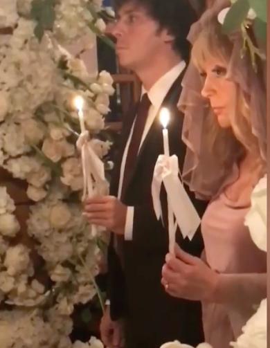 Церемония венчания Аллы Пугачёвой и Максима Галкина. Фото www.instagram.com/maxgalkinru