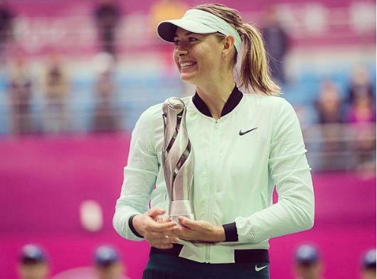 Российская теннисистка Мария Шарапова. Фото www.instagram.com/mariasharapova