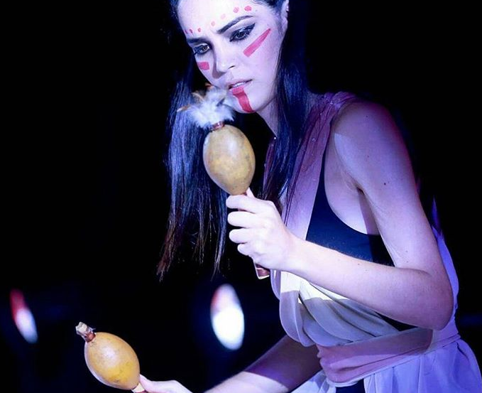 """Участница конкурса """"Мисс мира - 2017"""", Парагвай."""