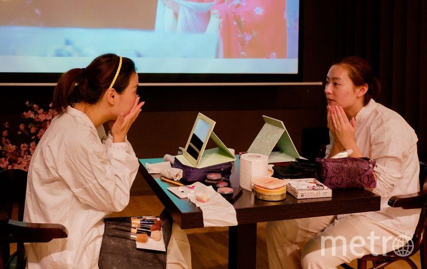 Китайцы провели мастер-класс по гриму в Петербурге. Фото все - Алена Бобрович.