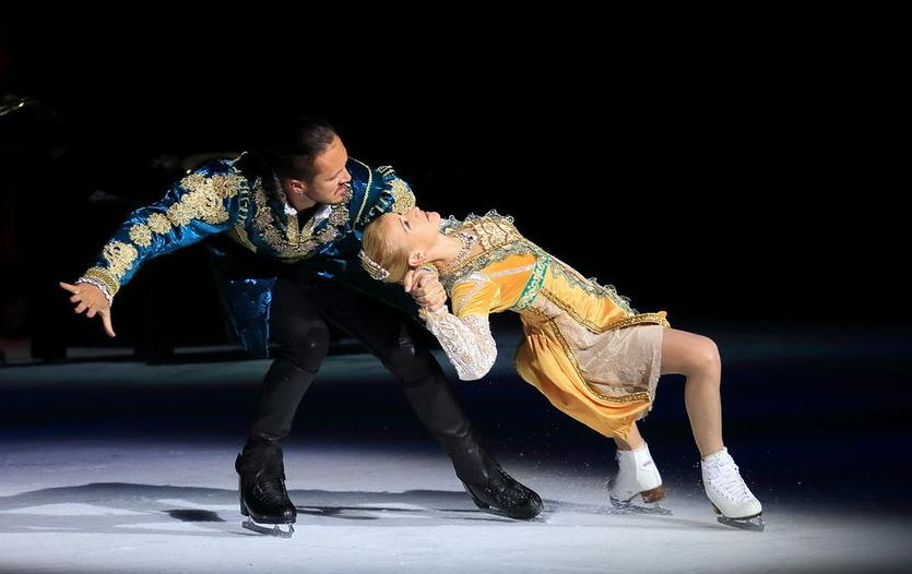 Международный культурный форум в Петербурге: что было интересного. Фото Предоставлено организаторами ледового шоу Ильи Авербуха.