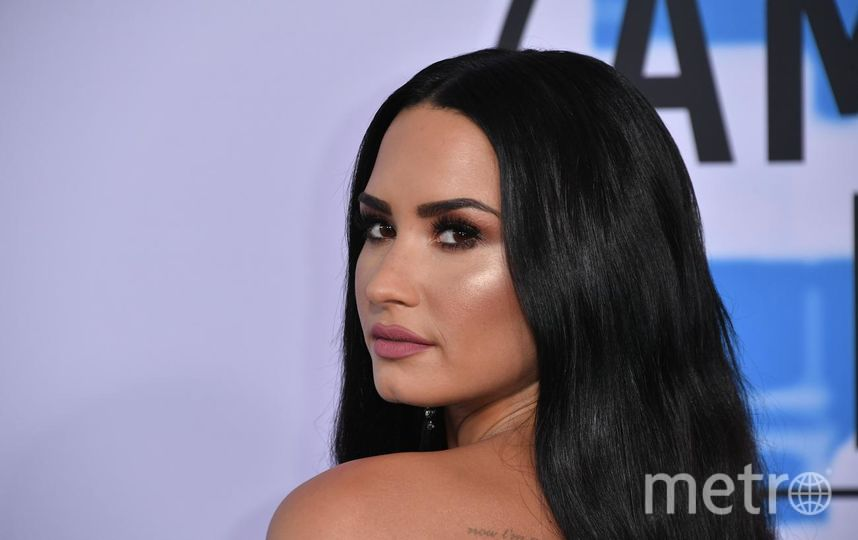 American Music Awards. Деми Ловато. Фото Getty
