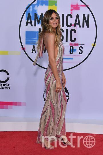 American Music Awards. Хайди Клум. Фото Getty