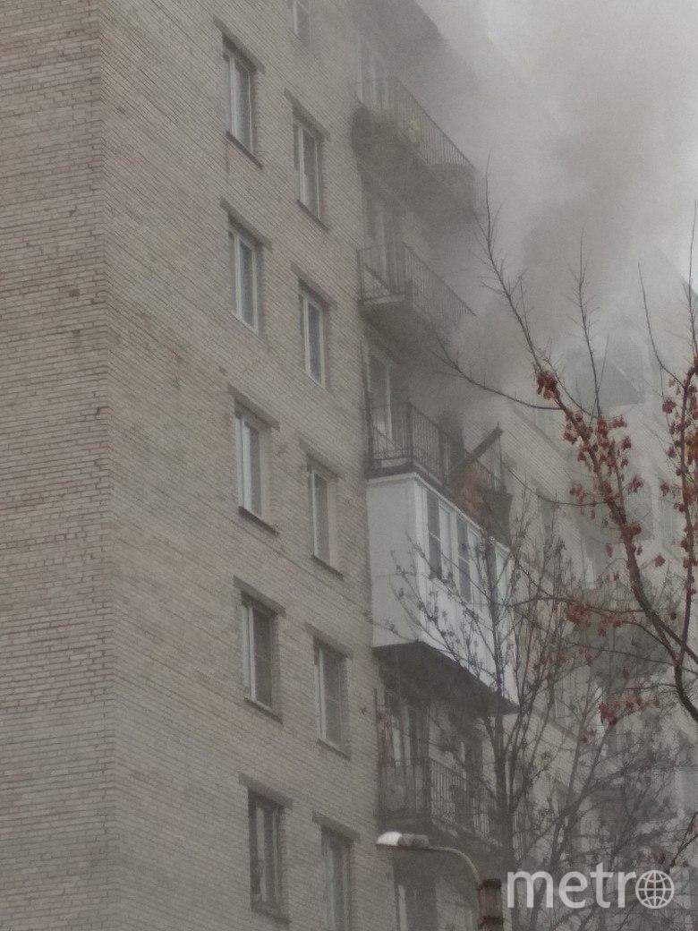 В Петербурге загорелась квартира на улице Солдата Корзуна. Фото ДТП и ЧП | Санкт-Петербург | Питер Онлайн | СПб, vk.com