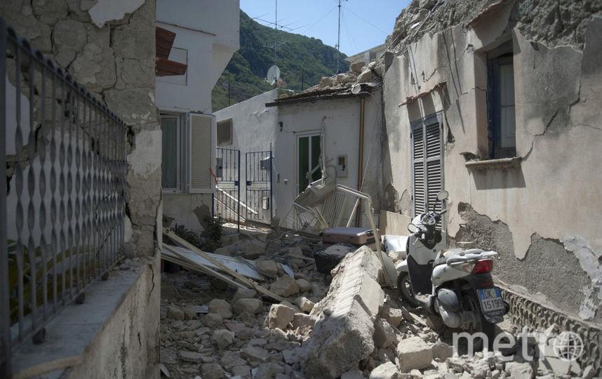 Последствия разрушительного землетрясения в Италии. Фото Getty