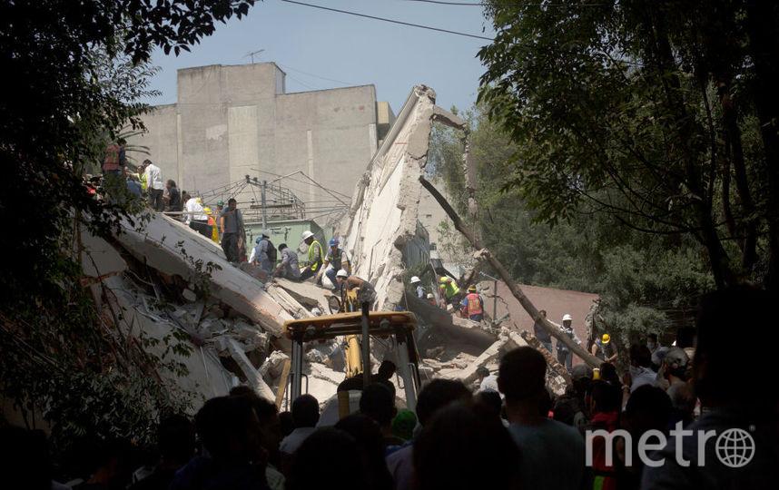 Последствия разрушительного землетрясения в Мексике. Фото Getty