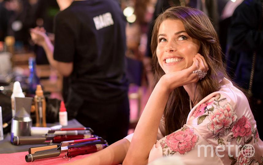 Накануне показа шоу Victoria's Secret. Джорджия Фоулер. Фото Getty