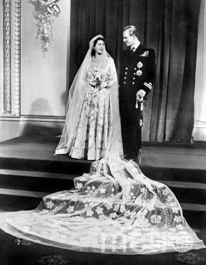 Елизавета II и принц Филипп. Фото AFP