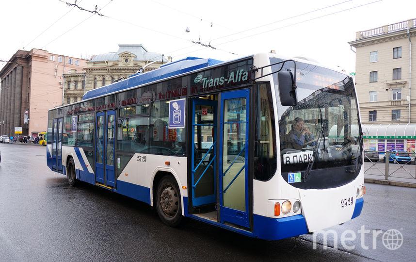 Пассажир устроил дебош в троллейбусе.