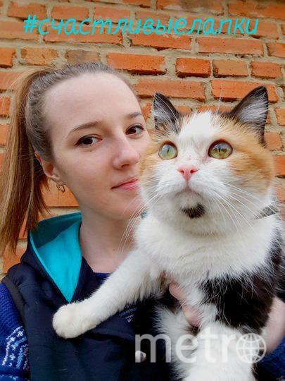 Парамонова Анна Дмитриевна,  кошку зовут Фрося.
