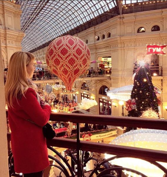 ГУМ. Фото Скриншот instagram.com/solovyeva_marina/?hl=ru