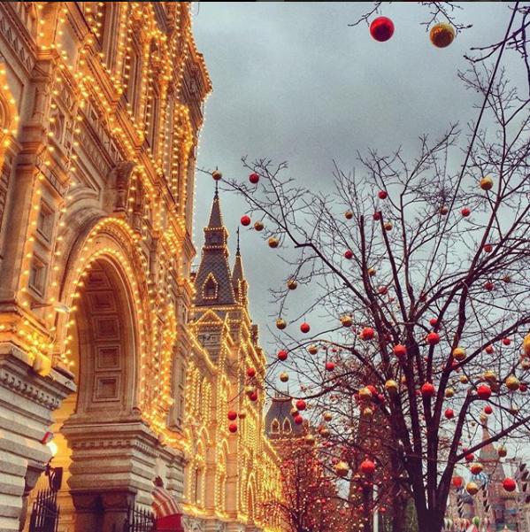 Красная площадь. Фото Скриншот instagram.com/solovyeva_marina/?hl=ru