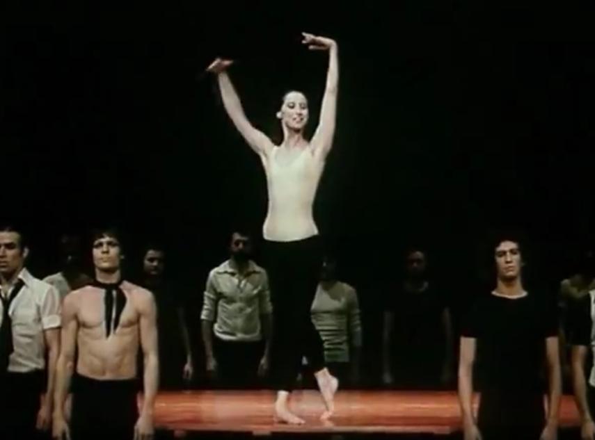 """Майя Плисецкая, """"Болеро"""". Фото Скриншот Youtube"""