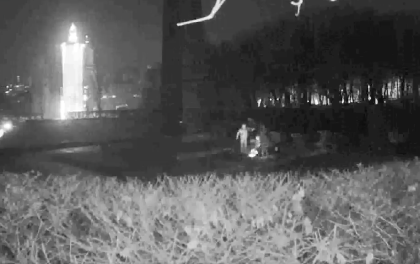 Кадры с места инцидента. Фото Київгаз | Facebook