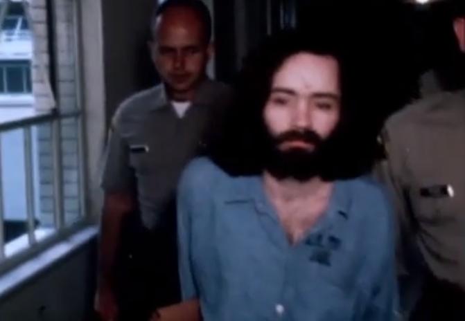 Чарльз Мэнсон, кадры видеоархива. Фото Скриншот видео.
