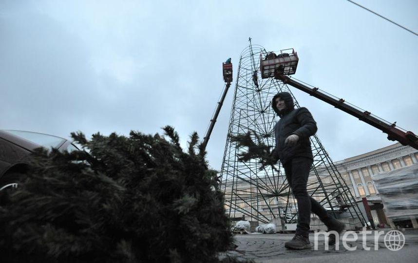 """Подготовка к Новому году идёт полным ходом. Фото Святослав Акимов, """"Metro"""""""