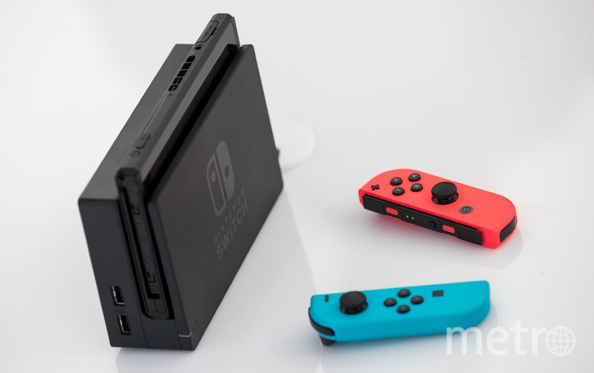 Nintendo Switch. Фото Getty