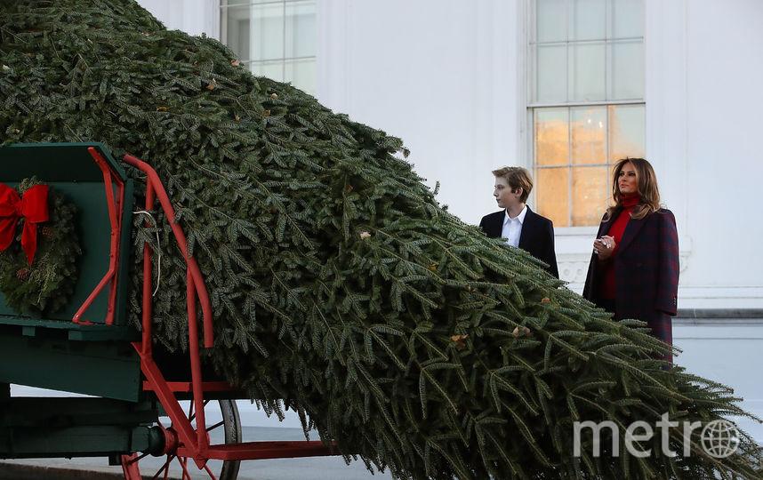 Пальто Calvin Klein исапоги Victoria Beckham: оптимальный зимний образ Мелании Трамп
