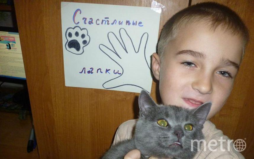 Куксин Виктор и кот Капитан.