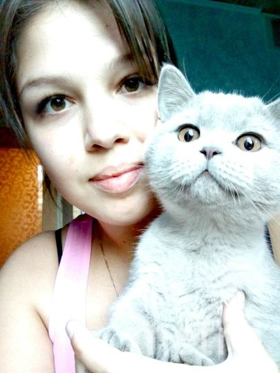 Бурхан Анастасия - Я и мой котик Кузя.