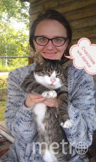 Зара и кошка Сюся (Сусанна).
