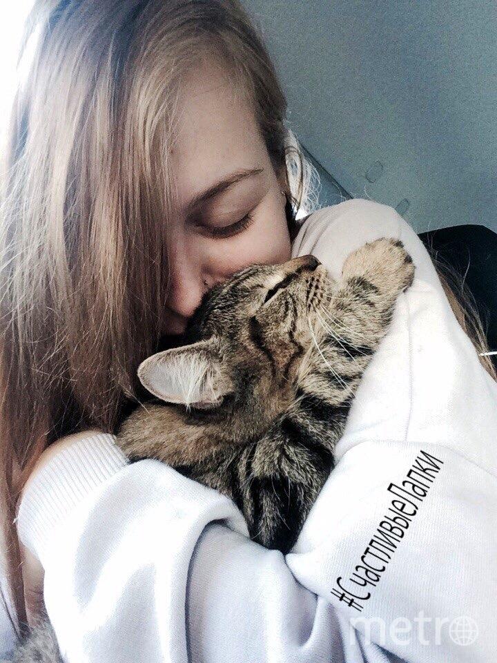 Миронова Анна. Кису зовут Тейя.